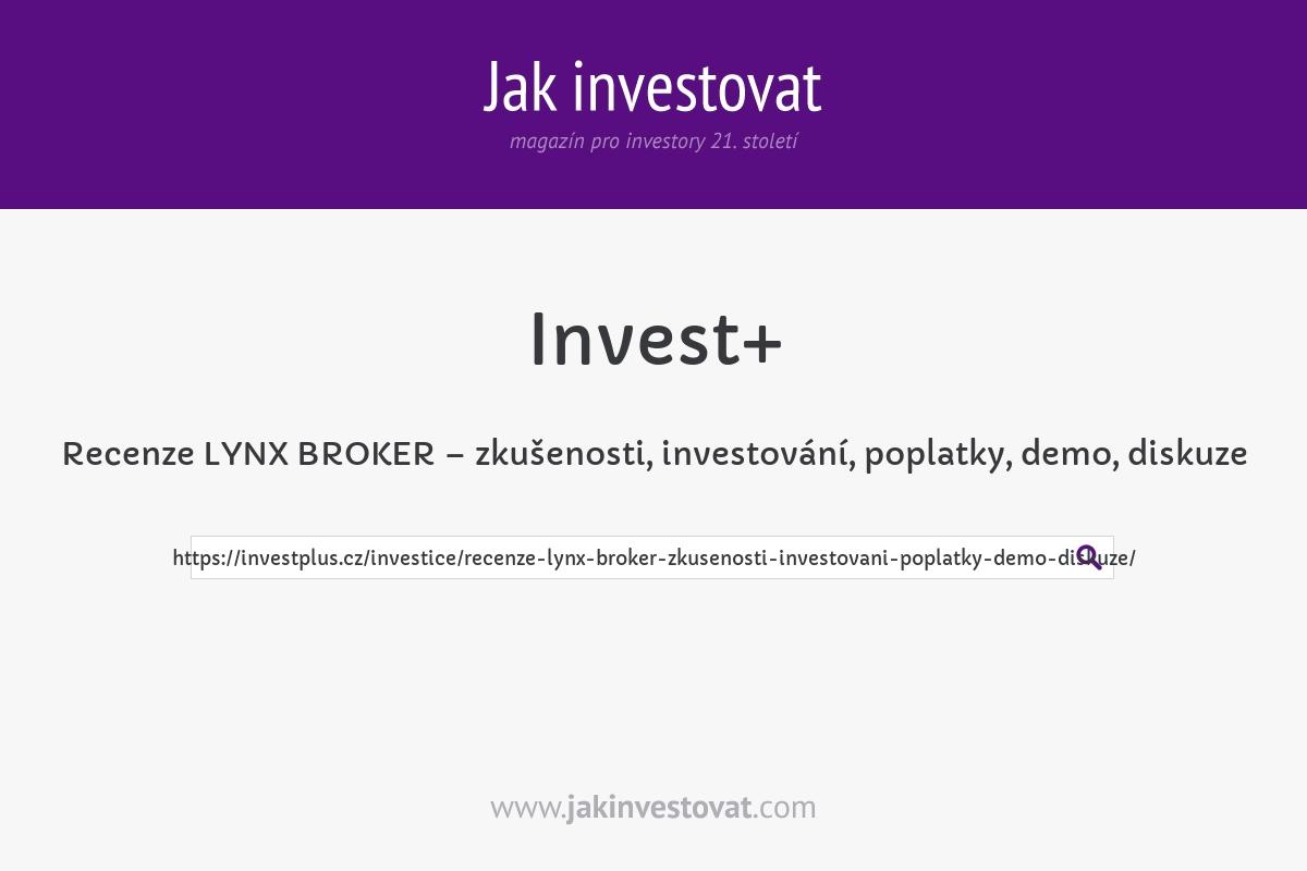Recenze LYNX BROKER – zkušenosti, investování, poplatky, demo, diskuze