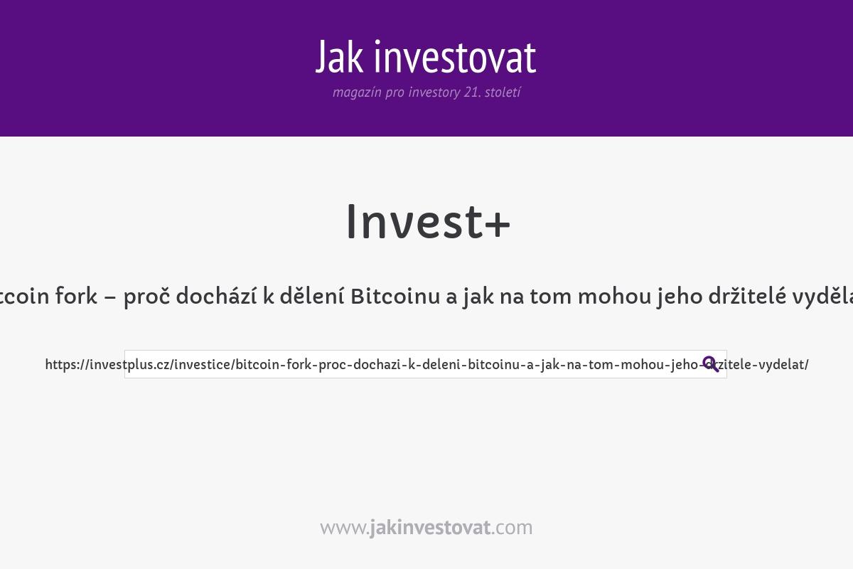 Bitcoin fork – proč dochází k dělení Bitcoinu a jak na tom mohou jeho držitelé vydělat?