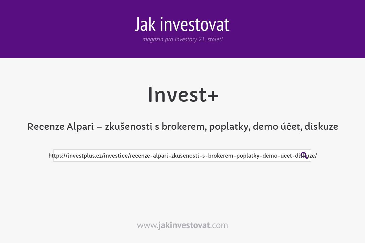 Recenze Alpari – zkušenosti s brokerem, poplatky, demo účet, diskuze