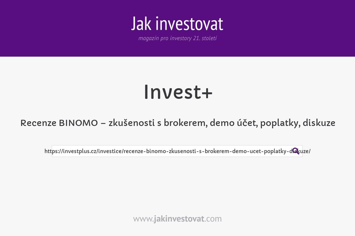 Recenze BINOMO – zkušenosti s brokerem, demo účet, poplatky, diskuze