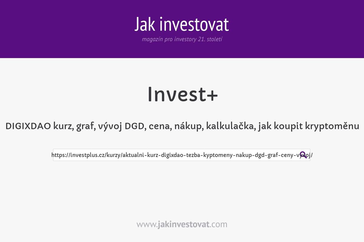 DIGIXDAO kurz, graf, vývoj DGD, cena, nákup, kalkulačka, jak koupit kryptoměnu