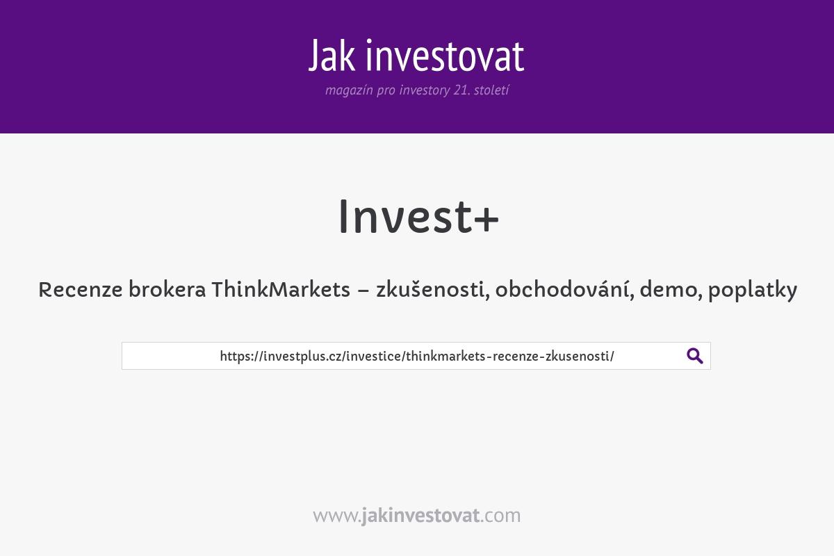 Recenze brokera ThinkMarkets – zkušenosti, obchodování, demo, poplatky