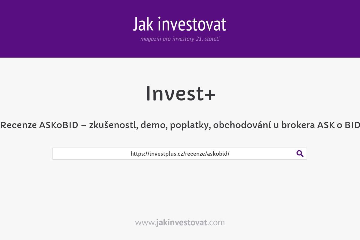 Recenze ASKoBID – zkušenosti, demo, poplatky, obchodování u brokera ASK o BID