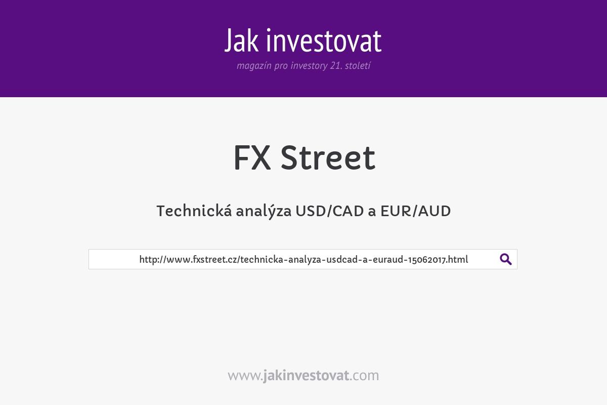 Technická analýza USD/CAD a EUR/AUD