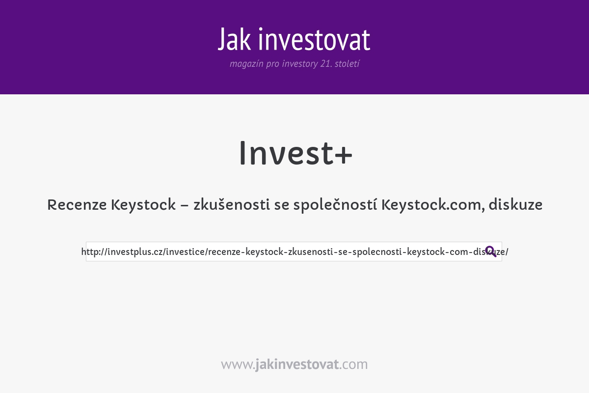 Recenze Keystock – zkušenosti se společností Keystock.com, diskuze