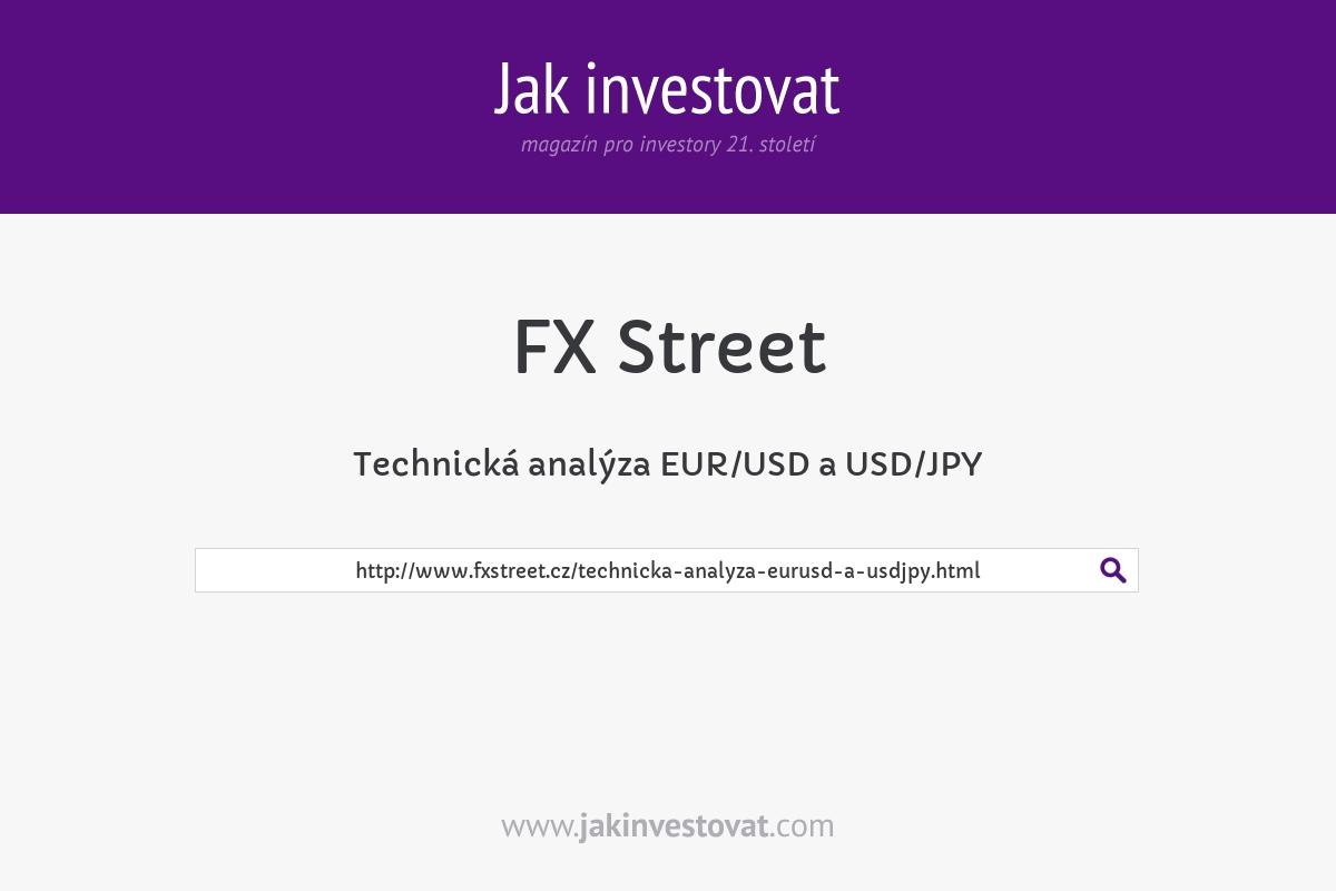 Technická analýza EUR/USD a USD/JPY