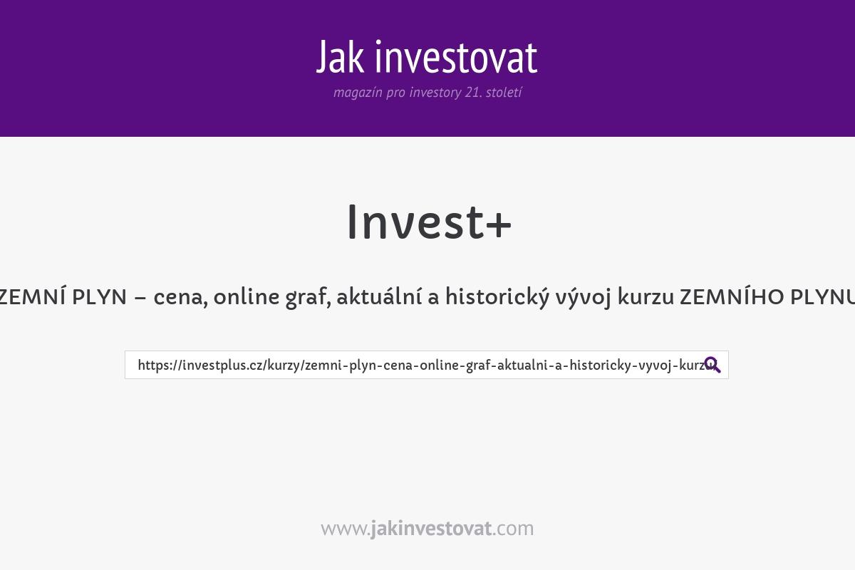 ZEMNÍ PLYN – cena, online graf, aktuální a historický vývoj kurzu ZEMNÍHO PLYNU