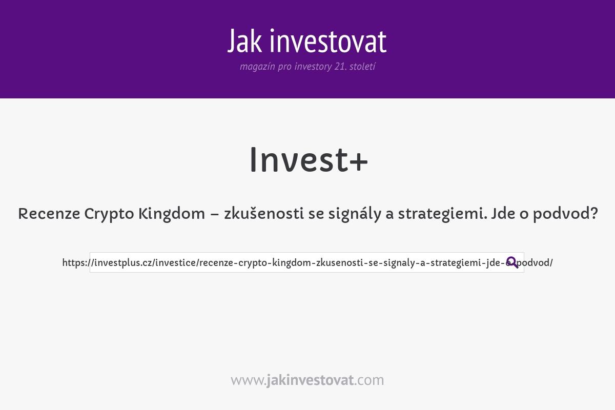 Recenze Crypto Kingdom – zkušenosti se signály a strategiemi. Jde o podvod?