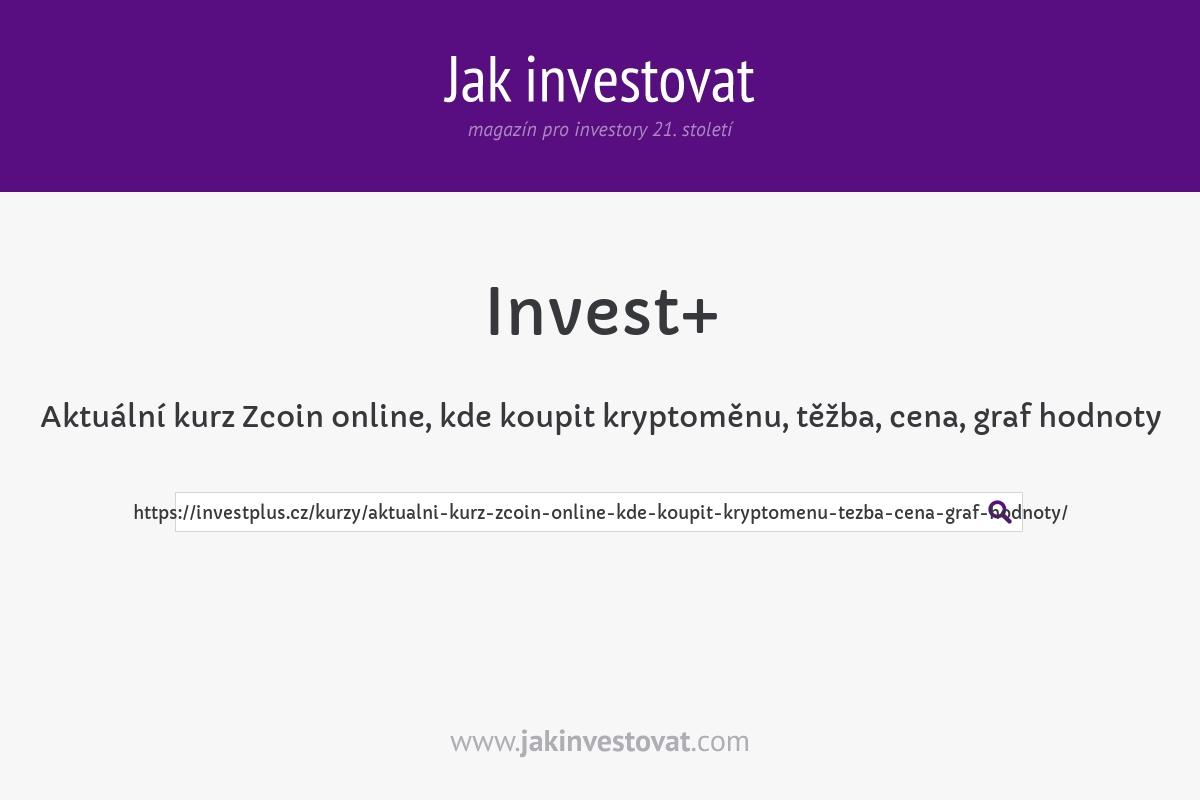 Aktuální kurz Zcoin online, kde koupit kryptoměnu, těžba, cena, graf hodnoty